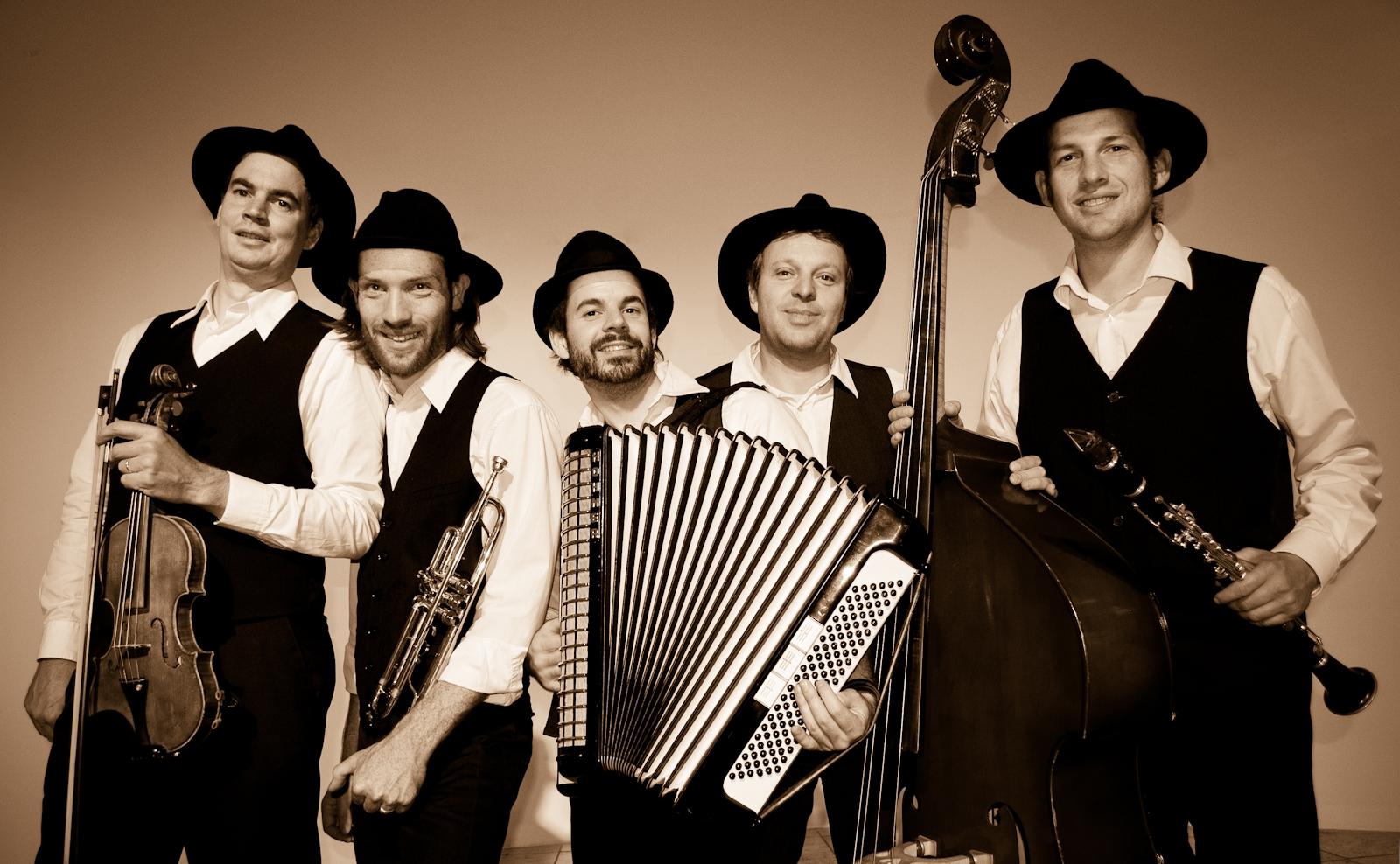 Das Klezmer Quartett Heidelberg - eine Klezmer Band