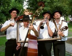 Klezmer Quartett Heidelberg - Im Rahmen des Rhein-Main-Donaugebietes
