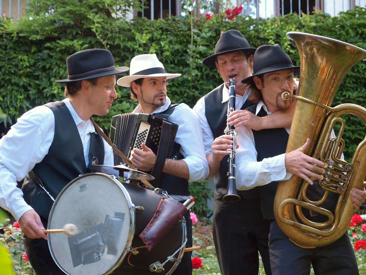 Klezmer Quartett - Klezmerband Open Air